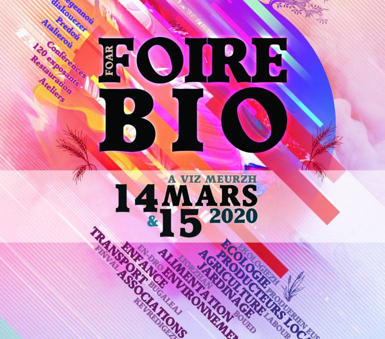 Foire BIO de Landerneau – 14&15 Mars 2020